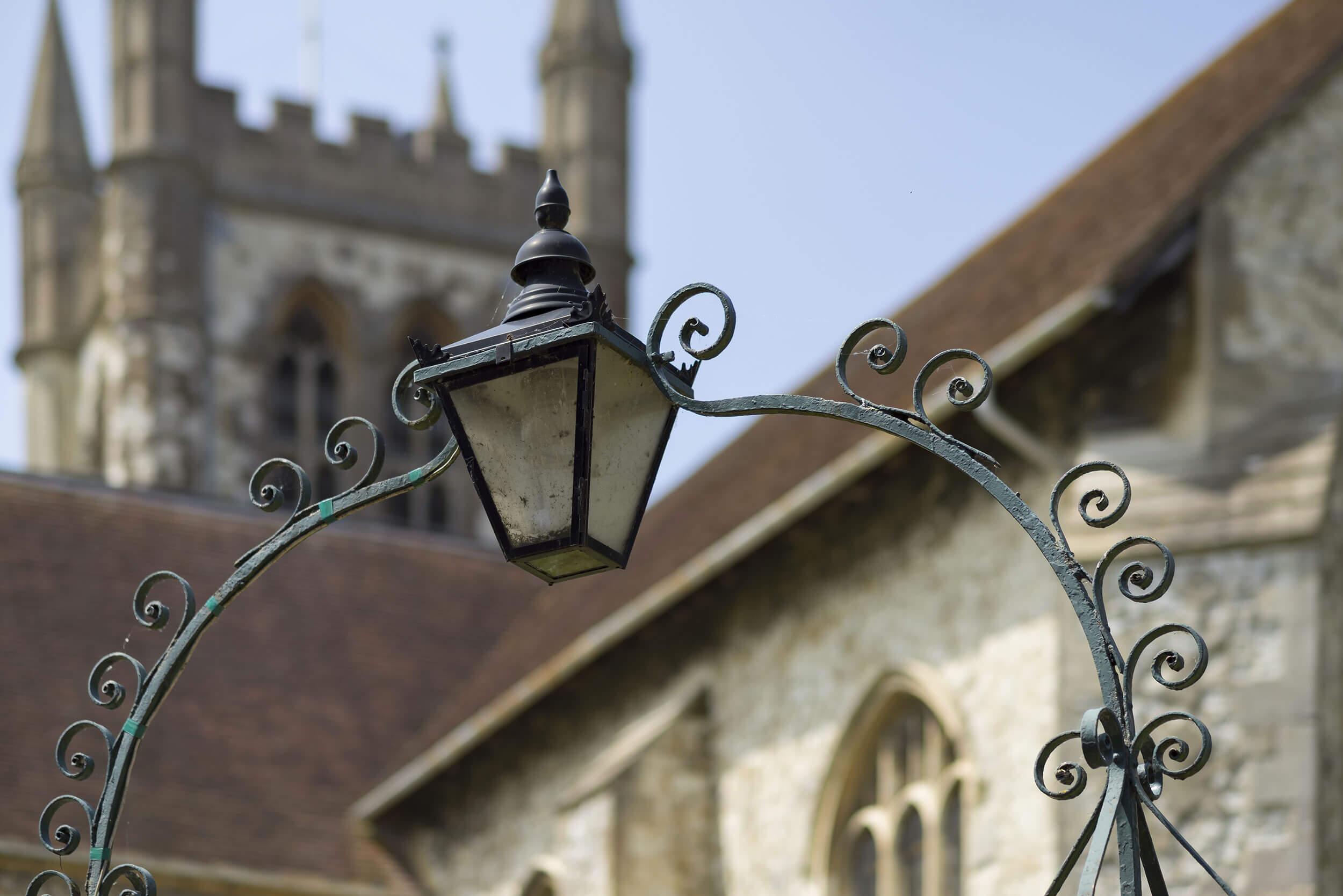 Farnham church image