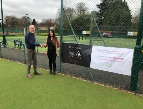 Haus Maids Sponsor Winchester Raquet & Fitness Club
