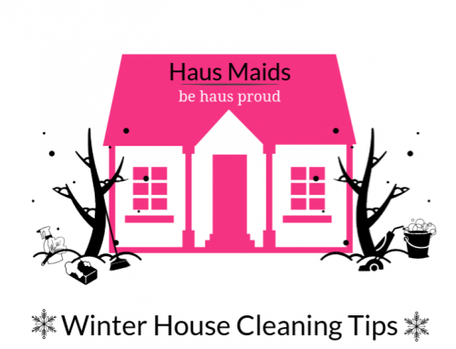 Winter House Cleaning Tips