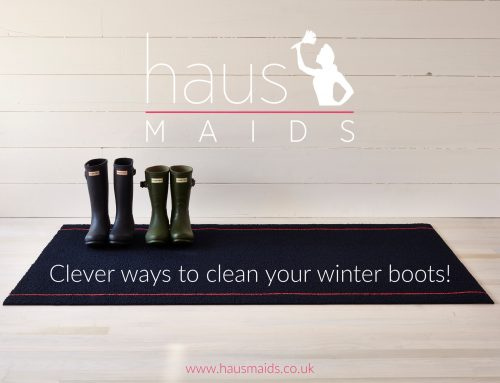 Clever Ways To Clean Your Winter Boots
