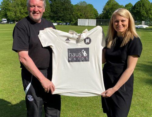 10 Years of Sponsorship with Farnham Cricket Club